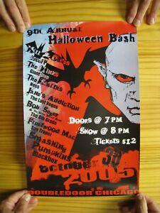 Halloween Bash Chicago 2005 Hall and Oates Bob Seger Smashing Pumpkins Smiths
