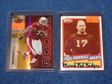 Alan Branch Cardinals Michigan 2007 Leaf Rookies & Stars Gold Parallel Rc 14/25