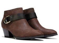Franco Sarto Gabie ankle boots booties brown sz 8.5 Med NEW