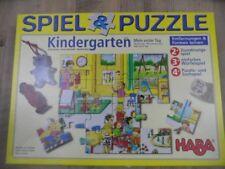 HABA Spiel&Puzzle Kindergarten Mein erster Tag ab 2 Jahren TOP KSo1217