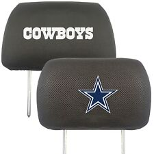 Fanmats NFL Dallas Cowboys New Headrest Covers Delivery 2-4 Days