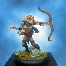 Painted Ral Partha MageKnight Miniature Noble Elf Archer