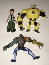 BEN 10 Ultimate Alien VILGAX ARMODRILLO 2010 Action Figure LOT Cartoon Network
