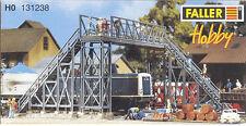 Faller 131238 - Railway Footbridge II Plastic Kit  'H0' Gauge=1/87 Scale T48Post