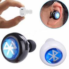 Wireless Bluetooth Mini Headset Earphone Headphone For Mobile iPhone Samsung HTC