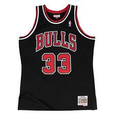 Scottie Pippen Chicago Bulls Mitchell & Ness Swingman Jersey Black XL