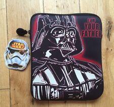"STAR Wars Darth Vader Tablet/iPad/DVD caso 8 ""X 10"""" Sono Tuo padre I"""