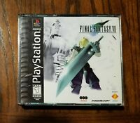 Final Fantasy VII 7 PS1 PlayStation 1 RPG 1997 Squaresoft Complete and Tested