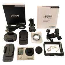 GoPro Hero 4 Black Edition (4K HD) Sports Action Helmet Cam No Battery/SD Card