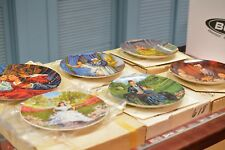 Gone With The Wind (6) Collector Plates By Knowles