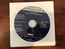 New Sealed Microsoft Windows Vista Business 32BIT SP1 Reinstallation DVD