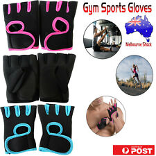 Men Women Weight Lifting Exercise Training Workout Fitness Gym Sports Gloves AU
