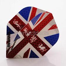 Standard Shape Dart Flights St George 100 micron England Flag.