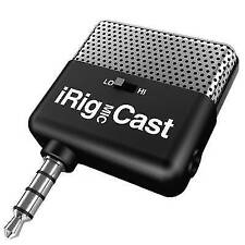 IK Multimedia iRig Mic Cast Voice Recording Microphone for iPhone iPod iPad