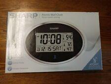 Sharp Atomic Clock-Atomic Accuracy - Never Needs Set! - LARGE 11.75x8.25