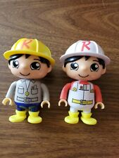 2018 Bonkers Ryan's World Construction Figures *preowned