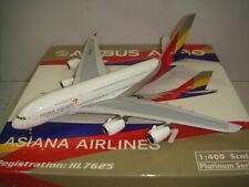 """Phoenix 400 Asiana Airlines OZ A380-800 """"2010s color"""" 1:400 HL7625"""
