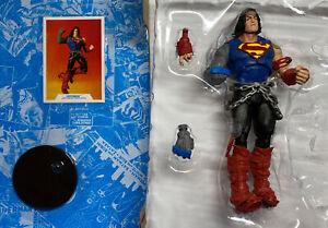 DC Multiverse SUPERMAN Dark Nights Death Metal NO Darkfather BAF McFarlane LOOSE