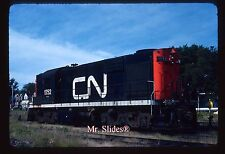Original Slide CN Canadian National MLW RSC18 1752 In 1982 At Charlottetown PEI