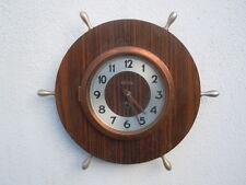 Pendule barre à roue navire horloge 8 jours Bayard 1950