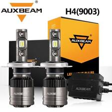 AUXBEAM T1 H4 9003 LED Headlight Hi-Low Bulbs 70W 8000LM 6000K+Canbus Adapter