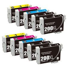 10 pk New ink for Epson WF-2520 WF-2530 WF-2540 XP-200 XP-300 XP-400 XP-100