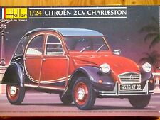 Heller 1:24 CITROEN 2CV Charleston AUTO KIT MODELLO