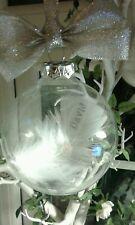 Personalised baby birthday birth keepsake christening bauble present gift xmas