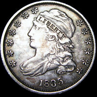 1835 Capped Bust Dime Type Coin  --- Stunning L@@K  --- #D510