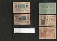 Austria Notgeld - 5 pieces - Neuhaus - uncirculated