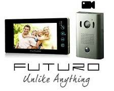 Futuro intercom with surface mounted door station, picture memory, Black