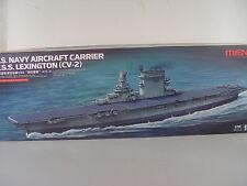 USS Lexington Flugzeugträger US Navy - Meng Schiff Bausatz 1:700 - 002 #E