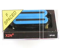 DiMarzio F-spaced X2N Bridge Humbucker Blue DP 102
