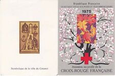 Carnet Croix Rouge 1975 - 8 timbres Non Oblitérés - Saisons Printemps Automne