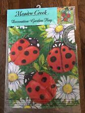 Garden Flag Lady Bug