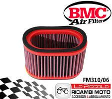 FM310/06 FILTRO ARIA BMC TRIUMPH SPEED TRIPLE 955 2002 LAVABILE SPORTIVO RACING