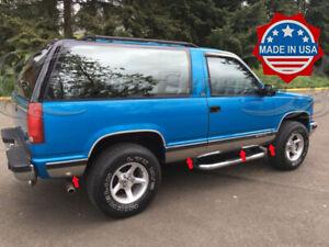 "1991-1994 Chevy Blazer 2Dr Full Size/K1500/K5 Rocker Panel Trim 8Pc 6 1/4"" NF"
