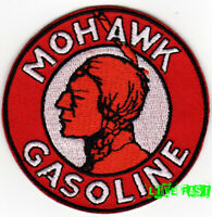 MOHAWK GASOLINE MOTOR GAS OIL PATCH EMBROIDERED IRON ON retro racing jacket
