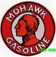 MOHAWK GASOLINE GAS & OIL PATCH EMBROIDERED IRON ON vintage retro racing jacket