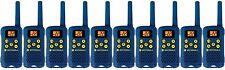 Lot of 10 BLUE Motorola TalkAbout MG160A FRS GMRS 2-WAY Radios Walkie Talkie AAA