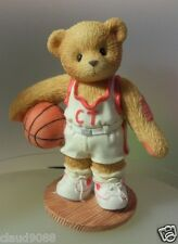 "CHERISHED TEDDIES ""LARRY""BASKETBALL PLAYER  ""YOU'RE MY SHOOTING STAR"" 203440 MIB"