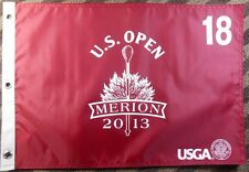 2013 US Open OFFICIAL (Merion) SCREEN PRINT Flag