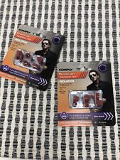 Lot 2 Packs of 3 Pair Comply Foam T-500 Isolation In Ear Earphone Tips Red NIP