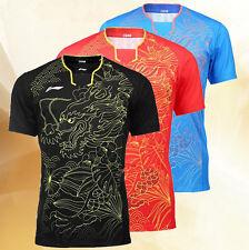 2016 Rio Olympics Li Ning men's Tops table tennis clothing Badminton T-shirt