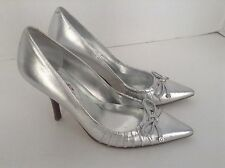 Guess Womens Silver High Heel Shoes Size 6 M