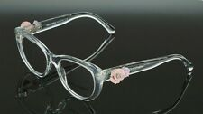 RARE Genuine Dolce & Gabbana Crystal Flowers Eye glass Frame Glasses DG 3163 656