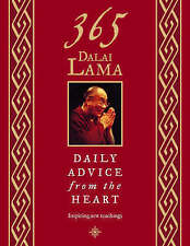 365 Dalai Lama: Daily Advice from the Heart, Dalai Lama, His Holiness the, Used;