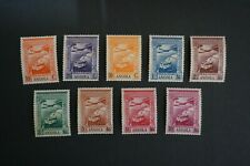 (T4) PORTUGAL PORTUGUESE ANGOLA 1938 EMPIRE AIRMAIL COMPLETE SET (MNH)
