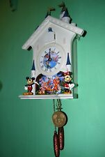Vintage Mr. Christmas Mickey's Clock Shop Disney - Tested and Working
