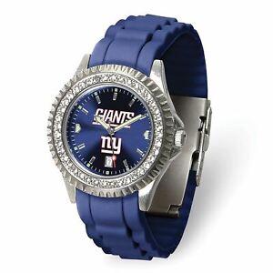 Gametime New York Giants Ladies Sparkle Watch